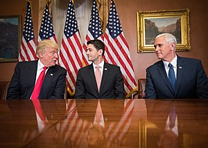 Speaker Ryan with Trump and Pence (wikipedia Image)