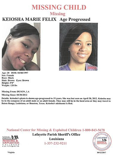 Missing Child Flyer