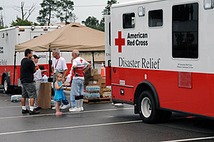 Red Cross Relief Workers (wikimedia Image)