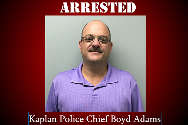 Kaplan Police Chief Arrested On Theft Malfeasance Charges