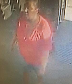 Theft Suspect, photo courtesy of Scott Police